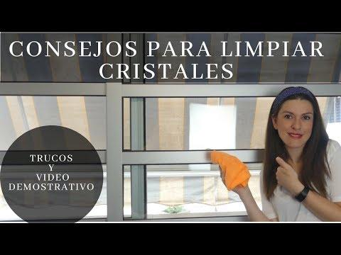 Como limpiar los cristales de forma facil, trucos y video de limpieza
