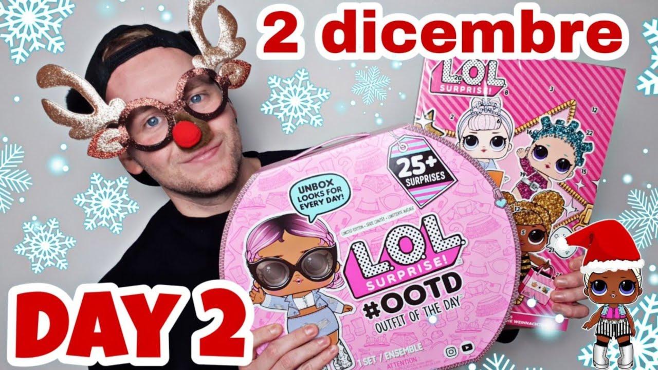 Lol Surprise Calendario Dellavvento.Day 2 Apriamo Il Calendario Dell Avvento Lol Surprise Outfitoftheday