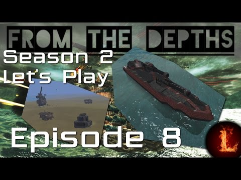 I won a village! Well, stole it really - Let's Play S2 Ep8 - From the Depths