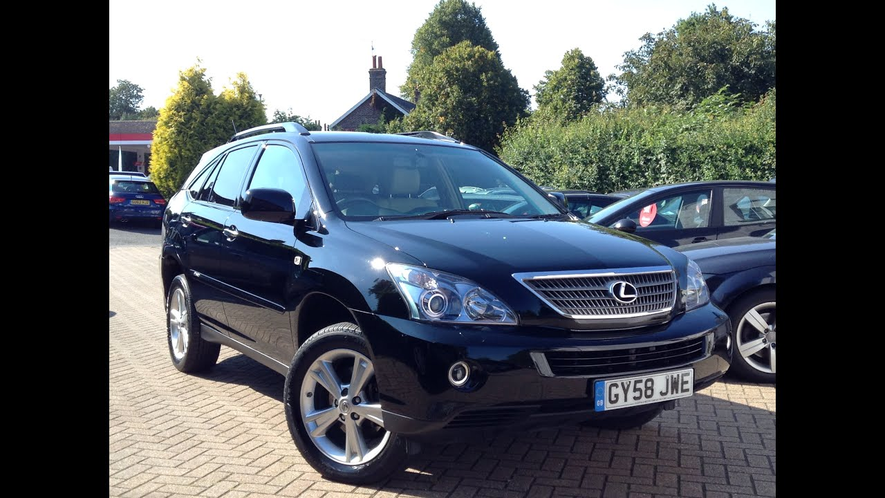 lexus rx 400h 3 3 se 5dr sold by cmc cars near brighton sussex youtube. Black Bedroom Furniture Sets. Home Design Ideas