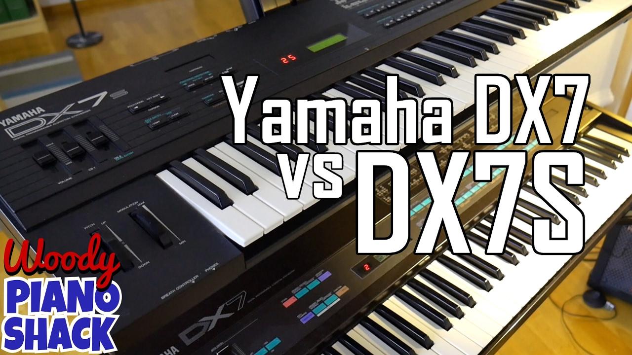 Yamaha DX7 versus DX7ii (Mk2, DX7S)