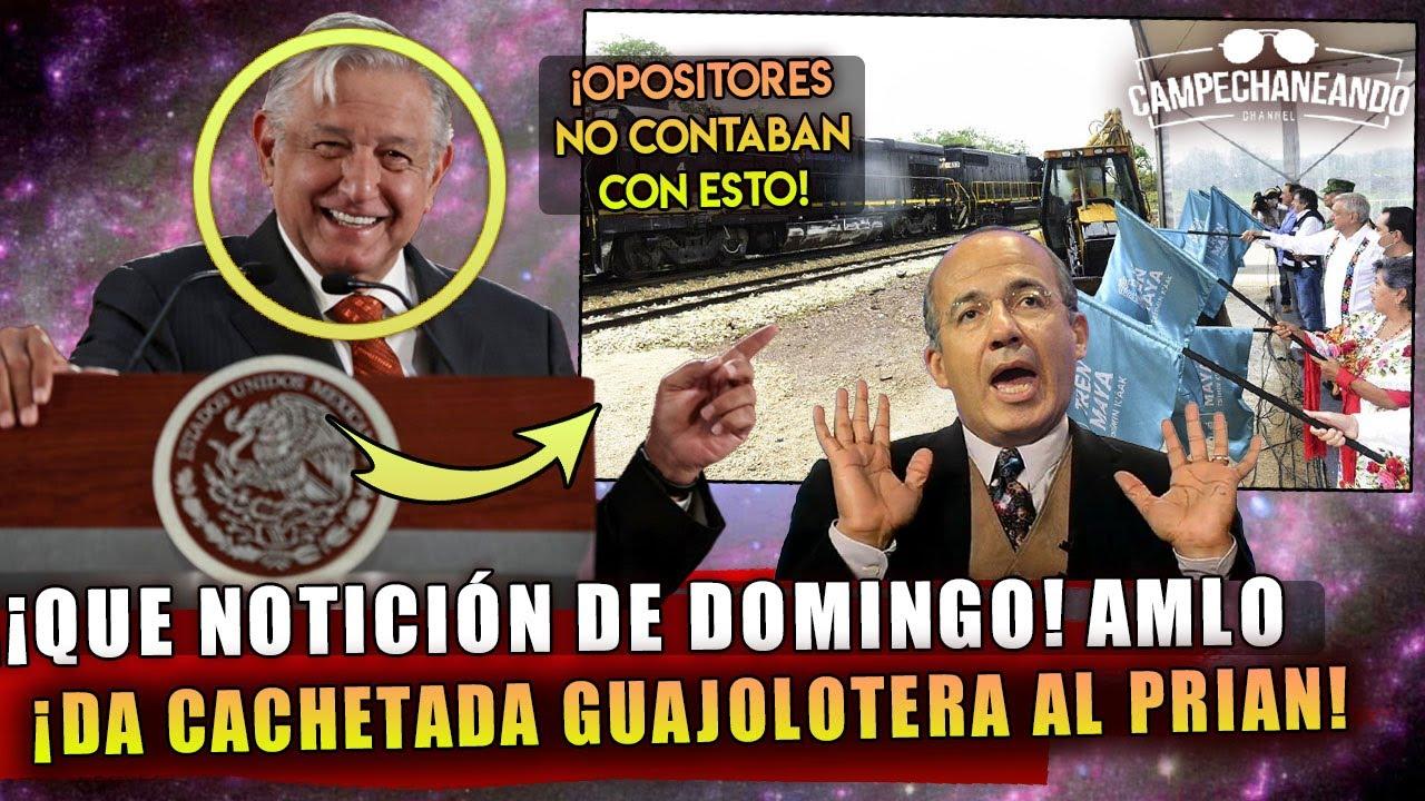 QUE NOTICIÓN! ACABA DE PASAR HACE UNOS MOMENTOS AMLO DA CACHETADA GUAJOLOTERA A OPOSITORES!