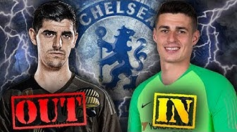 CONFIRMED: Real Madrid Sign Courtois After Chelsea Agree World-Record Fee For Kepa!   Transfer Talk