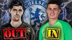 CONFIRMED: Real Madrid Sign Courtois After Chelsea Agree World-Record Fee For Kepa! | Transfer Talk