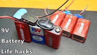 3 Amazing Idea With Battery    Battery Life Hacks