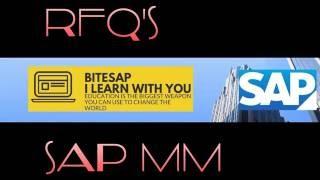 Teklif talebi SAP MM