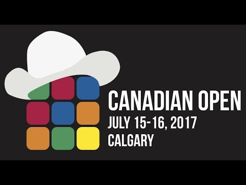 Canadian open SPEED-CUBING competition 2017!!!