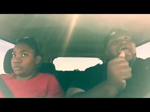 Man lip syncs his heart out during a 7-hour road trip, sister will have none of it
