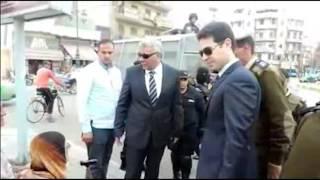 مدير أمن البحيرة يوجه قيادات إيتاي البارود بحسن معاملة الجمهور.. فيديو وصور