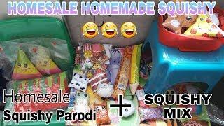 Homesale Homemade Squishy + SQUISHY MIX!! || INDONESIA😊