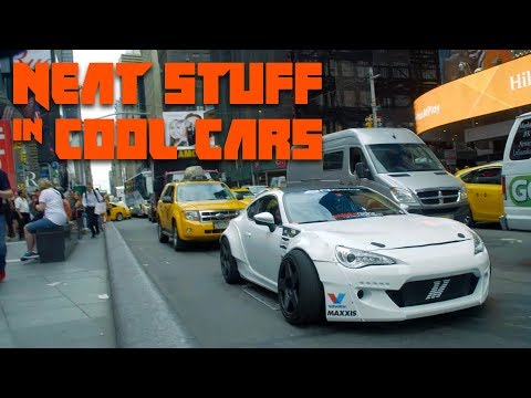 We Took The Craziest Street-Legal Drift Car In The World To Times Square | Neat Stuff in Cool Cars