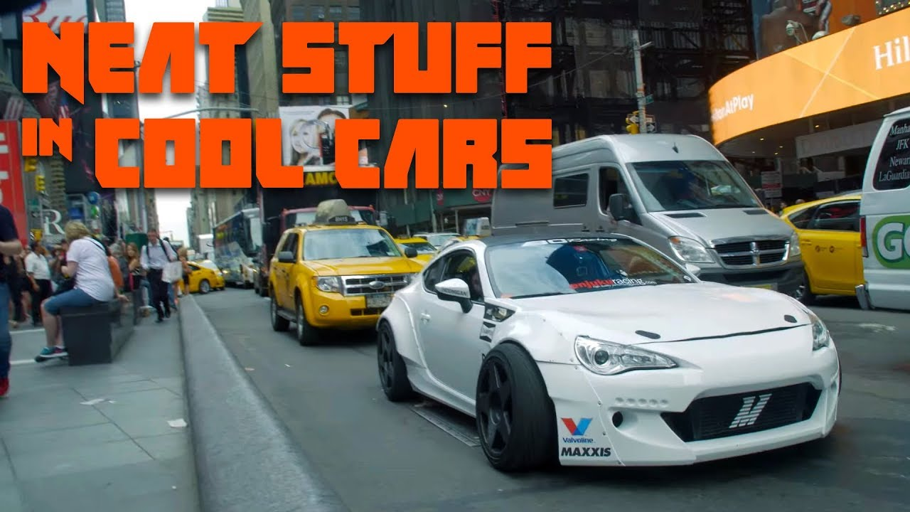 We Took The Craziest Street Legal Drift Car In World To Times Square Neat Stuff Cool Cars