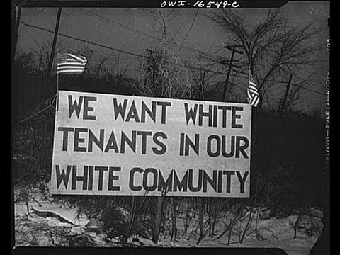 Racism in America: Small Town 1950s Case Study Documentary F