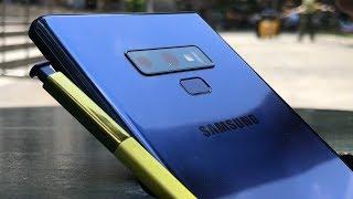 Samsung Galaxy Note 9 -  тест фото и впечатления