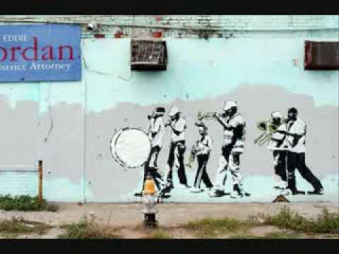 bansky stencil street art