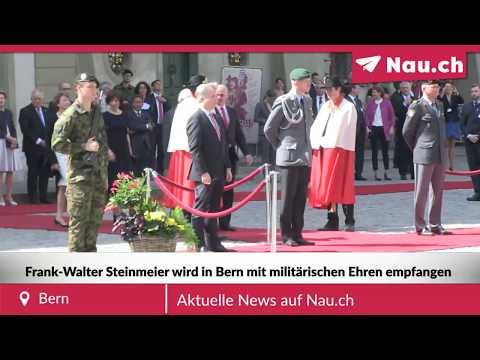 Staatsbesuch: Frank-Walter Steinmeier in Bern empfangen