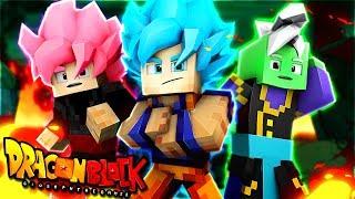 BLACK GOKU e ZAMASU in MINECRAFT DB BLOCK! Minecraft Dragon Block ITA #26 By GiosephTheGamer