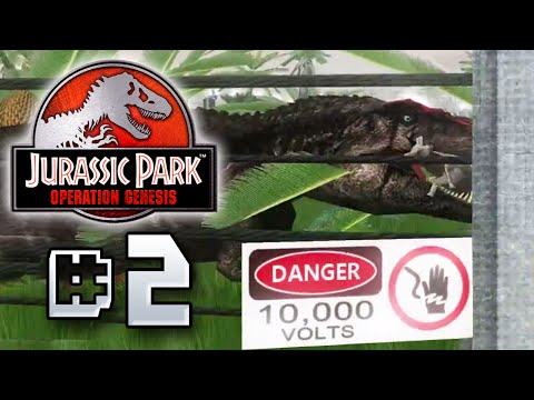 Deadly Carnivores - Jurassic Park Operation Genesis [ Jurassic Park Month ]