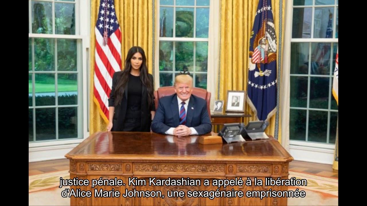 Kim kardashian dans le bureau ovale youtube