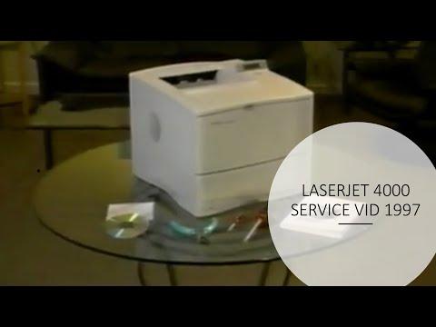 HP LaserJet 4000 / 4050 Service Training Video