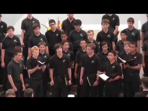 "Pacific Boychoir Academy ""Ave Maria à 4"" Giovanni da Palestrina St. Hedwig Stuttgart 11.07.2015"