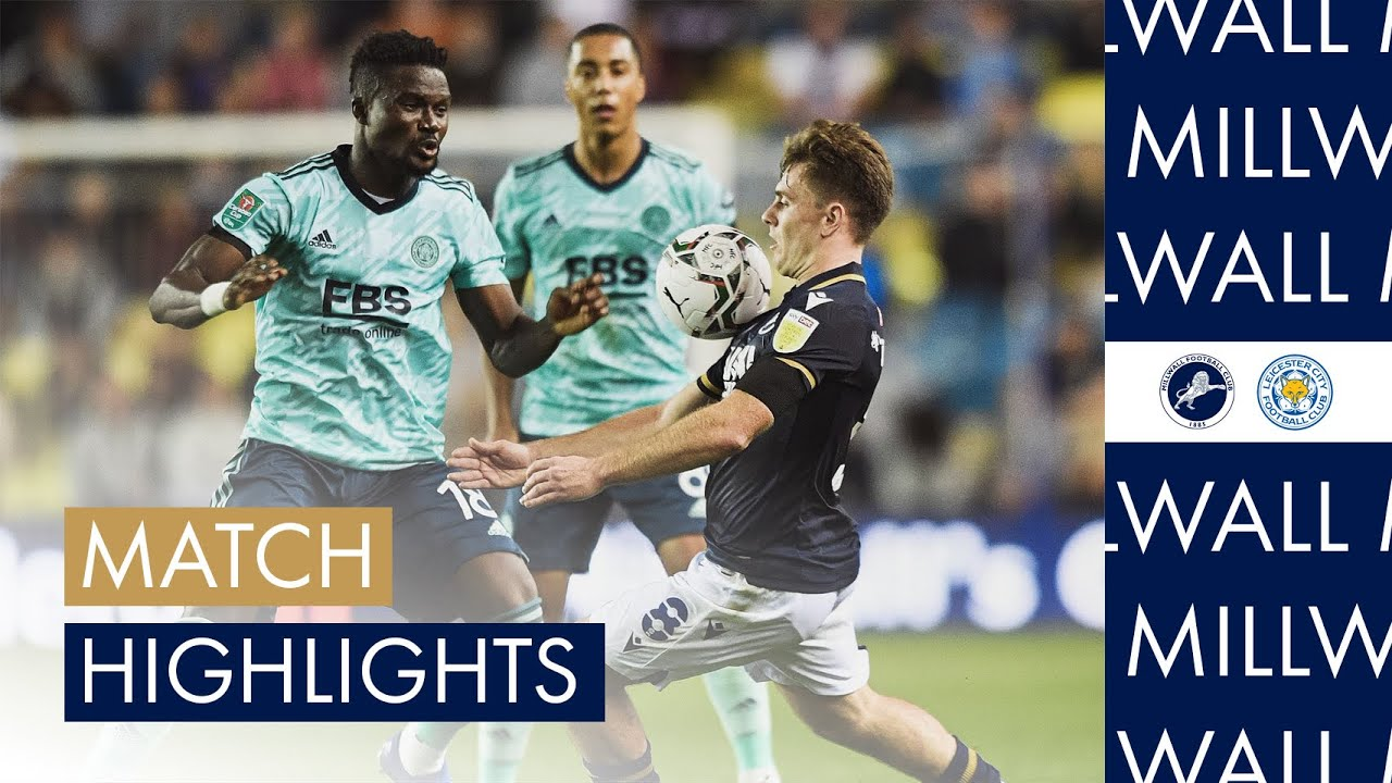 Download Millwall v Leicester City highlights