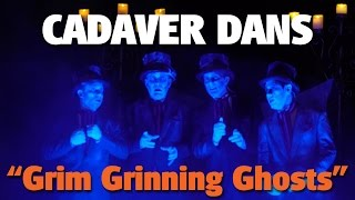 Cadaver Dans Sing Grim Grinning Ghosts on Rivers of America | Disneyland Park