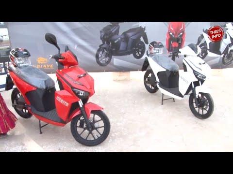 MOTO TAXI JAKARTA: NDIAYE TRANSPORT introduit la moto électrique à Thiès
