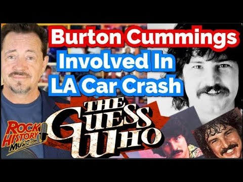 Burton Cummings Recovering After L.A. Car Crash