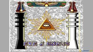 Eye of Horus gameplay (PC Game, 1989)
