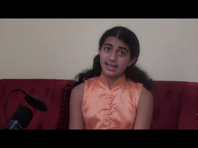 Singing Entry   Pranavi Raina 2   New Jersey, USA