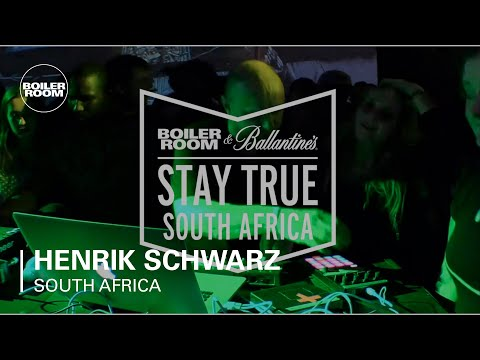 Henrik Schwarz Boiler Room x Ballantine's Stay True South Af