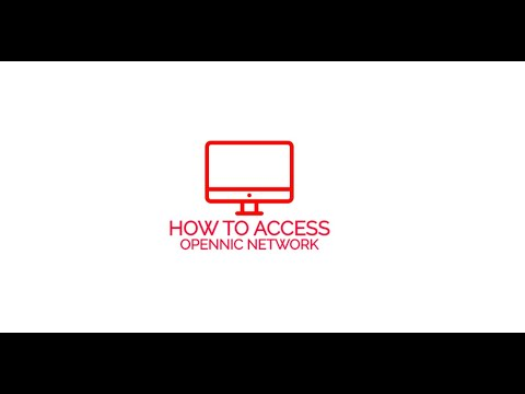 How to access OpenNIC network