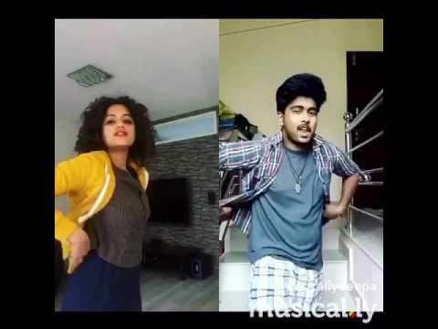 Malayalam song  Pacahamanga  Priyhviraj kerala II Malayalam Dubsmash musically