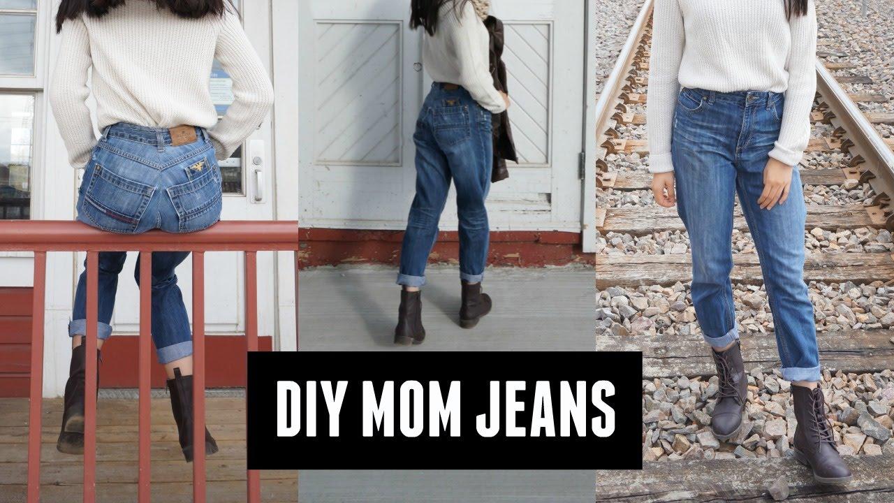 e2807813806e1 DIY mom jeans by minimalistikelly - YouTube