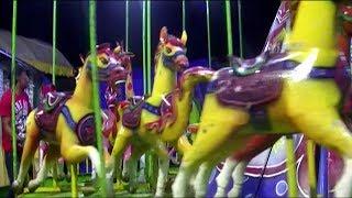 DrumBand Balonku Ada Lima Lagu Dalam Video Kids Fun Outdoor - Pasar Malam Naik Kuda Putar