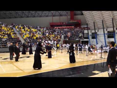 Kendo 2015 Nikkei Games: 1Dan Division - Match 2