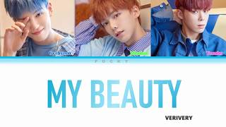 VERIVERY (베리베리) _ MY BEAUTY LYRICS OST OF EXTRAORDINARY YOU [COLOR CODED HAN|ROM|ENG]