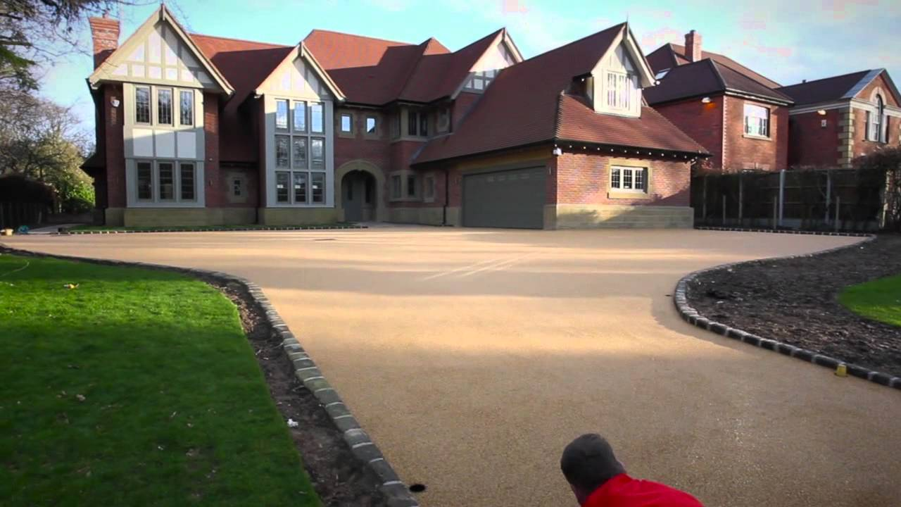 Cheshire Bonded Stone Resin Bound Driveways Resin Bonded