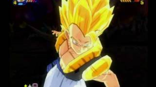 BT3 Vegetto and Gogeta Moveset