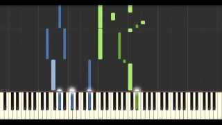 Piano Tutorial: Avril 14th (Aphex Twin) - Best HQ version  + free sheet music and MIDI file)