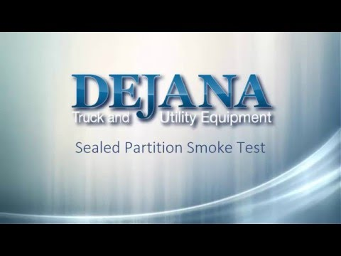 Dejana Sealed Van Partition - Dejana Truck & Utility Equipment
