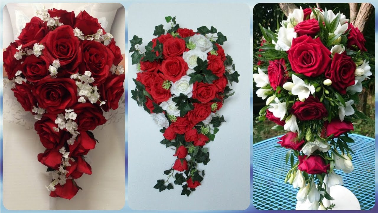 Top 20 Best Ideas For Red Rose Bridal Bouquet Youtube