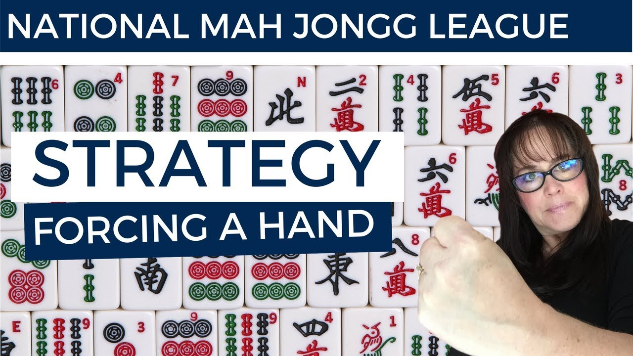 National Mah Jongg League Lesson-Forcing a Hand Strategy