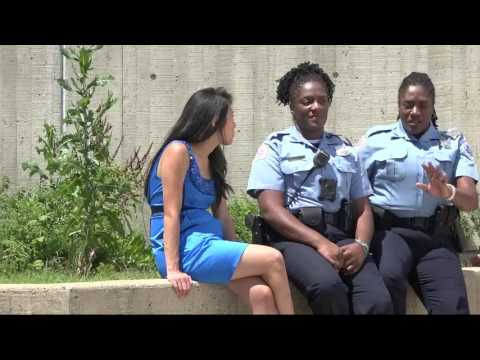 Twin sisters are both DC police officers