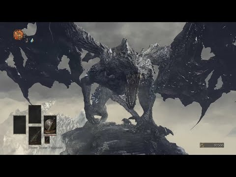Dark Souls 3 Dark Eater Midir vs Nameless King - Playable Midir - Ashes of Cinders Mod