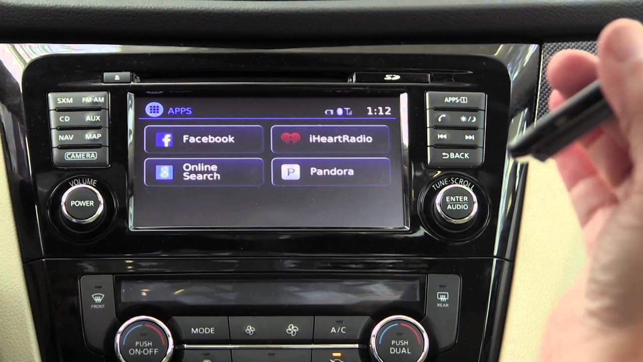 Nissan Rogue Altima Connected Via Iphone Android To