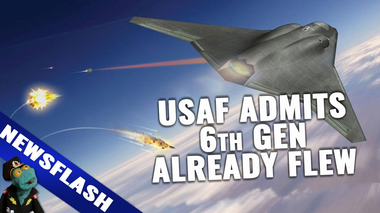 Newsflash: USAF just admitted it flew a 6th generation fighter jet demonstrator in secret