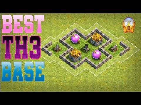 Clash Of Clans Best Town Hall 3 [TH3] Base Design -  #4