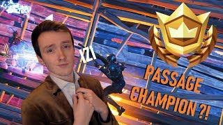 PASSAGE CHAMPION ??? :D Big game in ARENE! (Fortnite Season 10)